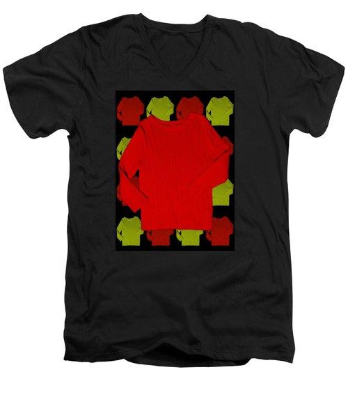 Men's V-Neck T-Shirt featuring the photograph Shirts by Bob Pardue