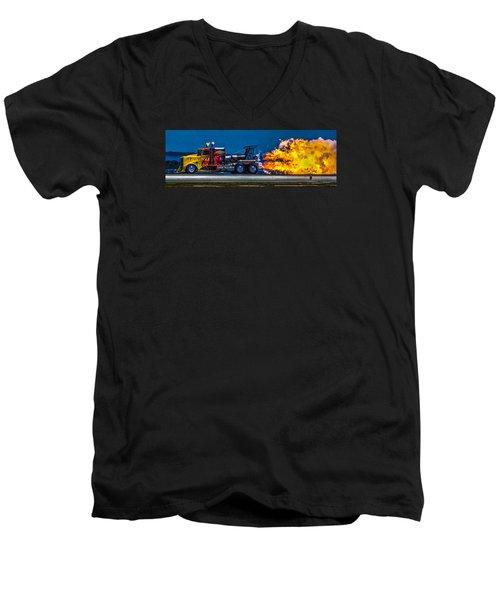 Shock Wave 2836 Men's V-Neck T-Shirt