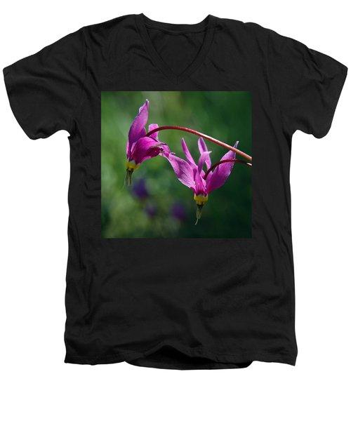 Shooting Stars Men's V-Neck T-Shirt