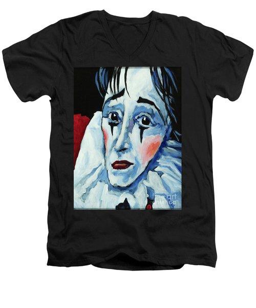Show Must Go On Men's V-Neck T-Shirt