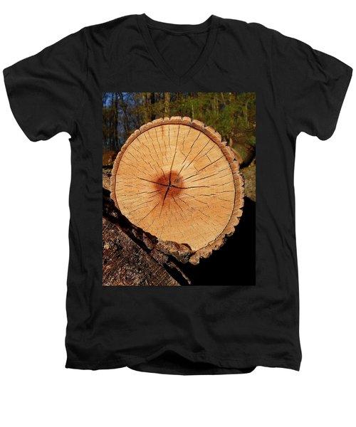 Showing Its Age Men's V-Neck T-Shirt