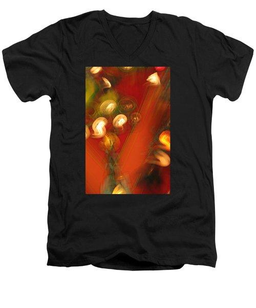 Shwiggle Men's V-Neck T-Shirt