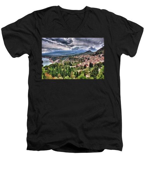 Sicilian Coast Men's V-Neck T-Shirt