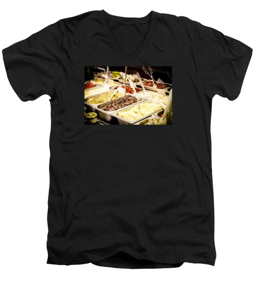 Men's V-Neck T-Shirt featuring the photograph Side Dish by Jason Smith