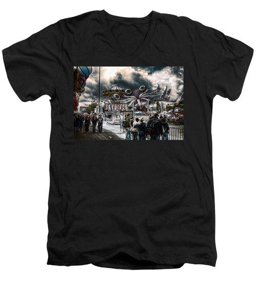 Sideshow Alley Men's V-Neck T-Shirt