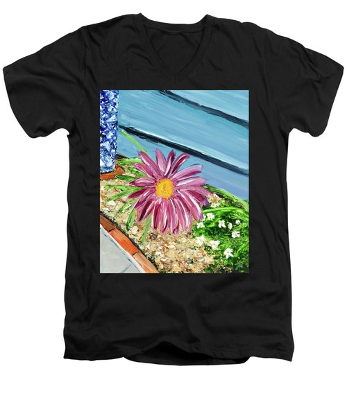Sidewalk View Men's V-Neck T-Shirt