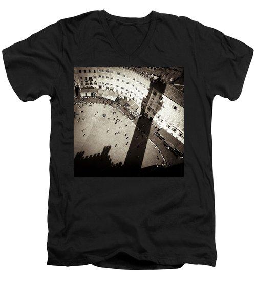 Siena From Above Men's V-Neck T-Shirt