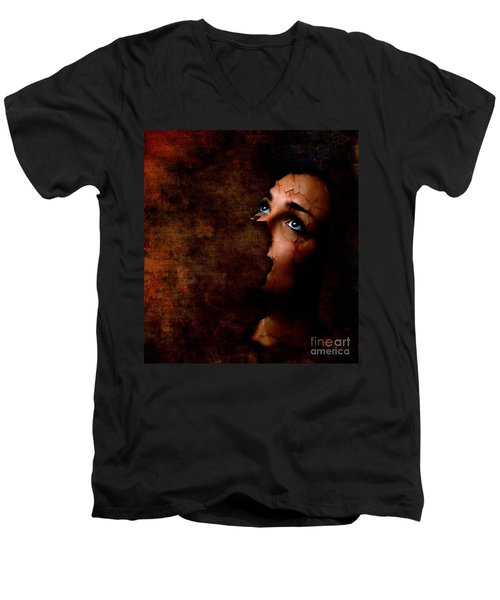 Silenced Men's V-Neck T-Shirt