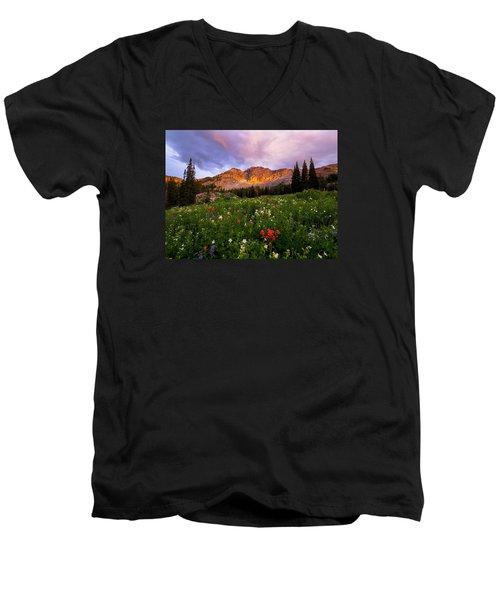 Silent Stirrings Men's V-Neck T-Shirt