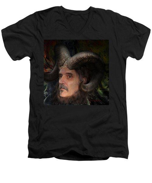 Silenus Men's V-Neck T-Shirt