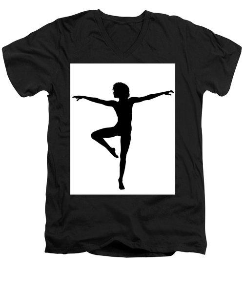 Silhouette 24 Men's V-Neck T-Shirt