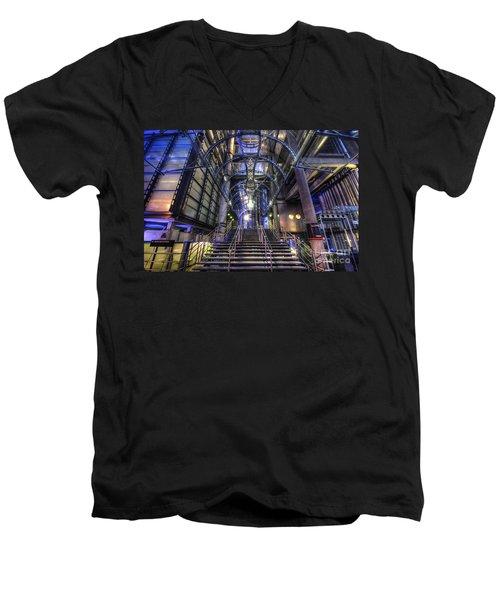 Silk And Steel 1.0 Men's V-Neck T-Shirt