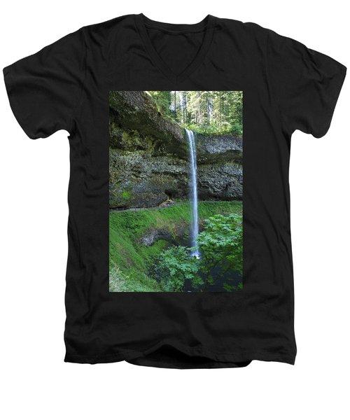 Silver Falls 2893 Men's V-Neck T-Shirt