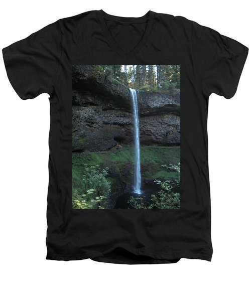 Silver Falls Men's V-Neck T-Shirt