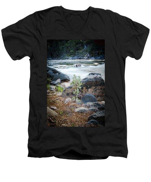 Silver Fork Manzanita Men's V-Neck T-Shirt