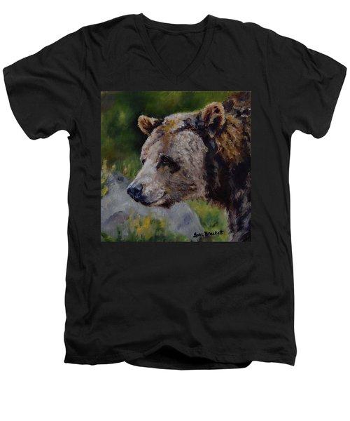 Silvertip Men's V-Neck T-Shirt