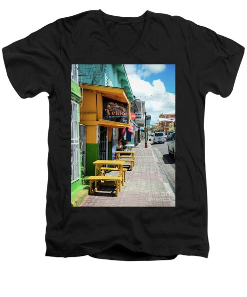 Simple Street View Men's V-Neck T-Shirt