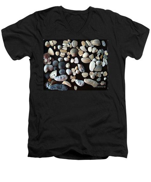 Simply Seashells Men's V-Neck T-Shirt