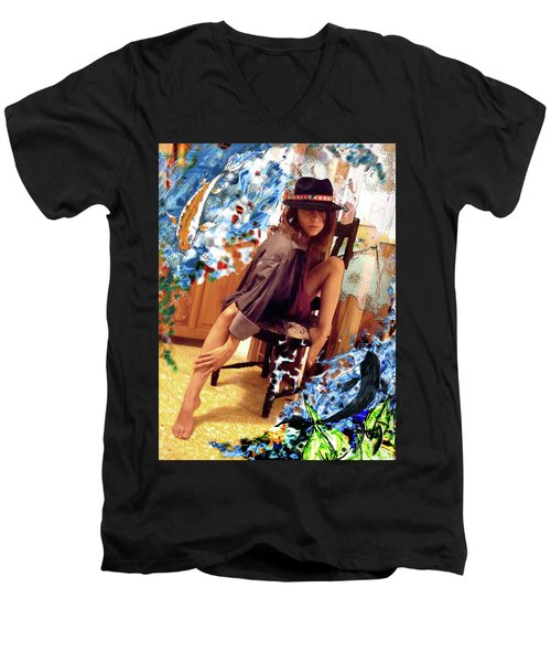 Sinergia Men's V-Neck T-Shirt