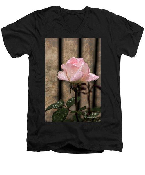 Single Pristine Men's V-Neck T-Shirt
