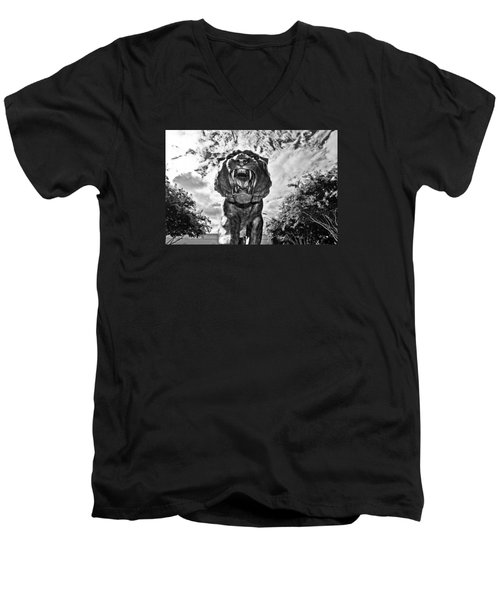 Sir Mike Men's V-Neck T-Shirt