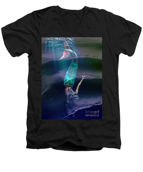 Sirena Men's V-Neck T-Shirt