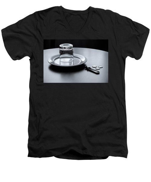 Six Euros Men's V-Neck T-Shirt by KG Thienemann