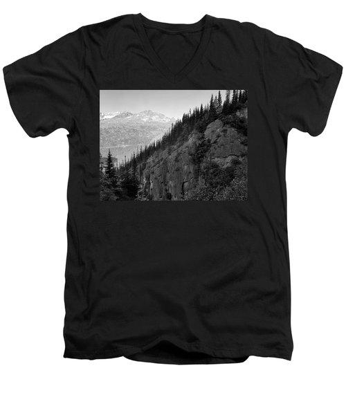Skagway, Alaska Men's V-Neck T-Shirt