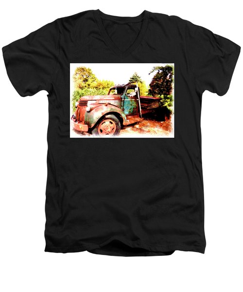 Skeleton Crew Men's V-Neck T-Shirt