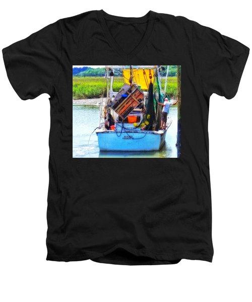 Skipjack Men's V-Neck T-Shirt