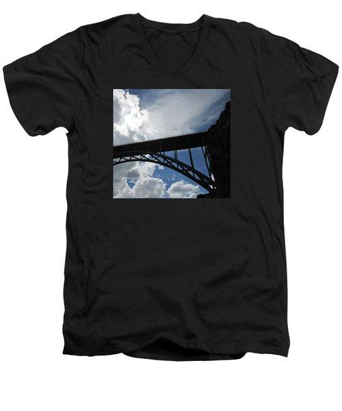 Sky Bridge Men's V-Neck T-Shirt