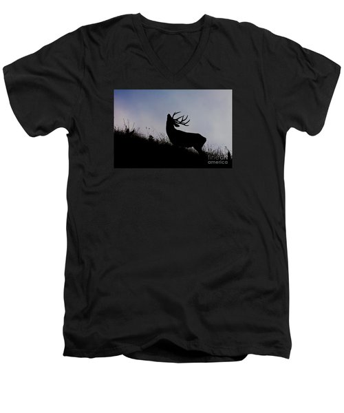 Skyline Monarch Men's V-Neck T-Shirt