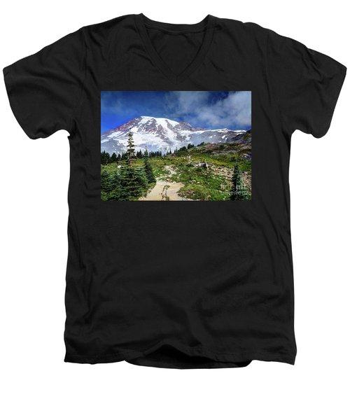 Skyline Trail Men's V-Neck T-Shirt