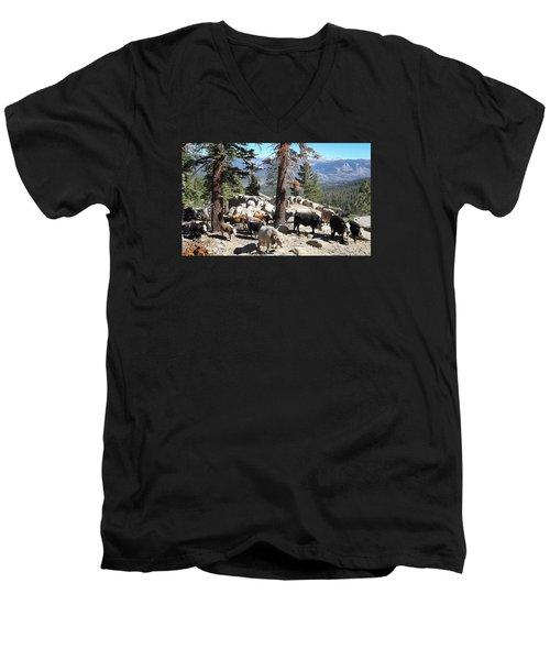 Slow Is Fast Men's V-Neck T-Shirt