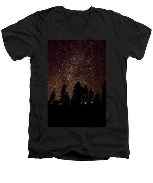 Small World Men's V-Neck T-Shirt