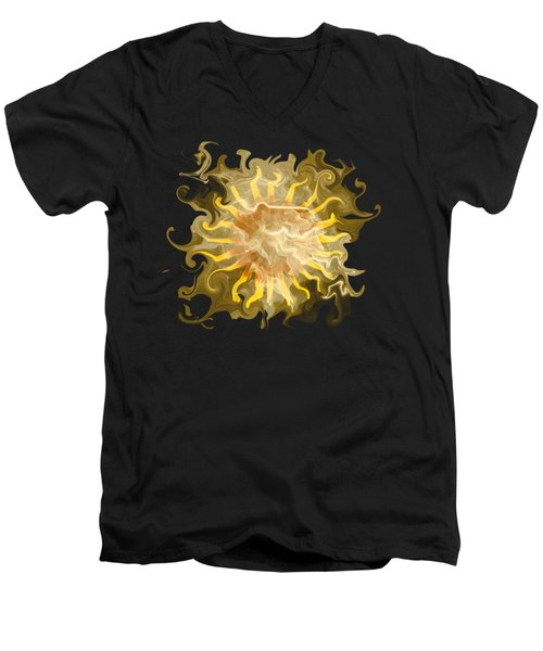 Smokin' Hot Men's V-Neck T-Shirt by David and Lynn Keller