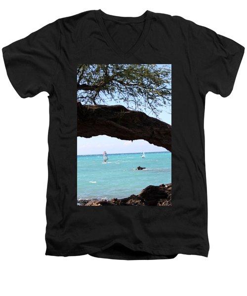 Smooth Sailing Men's V-Neck T-Shirt