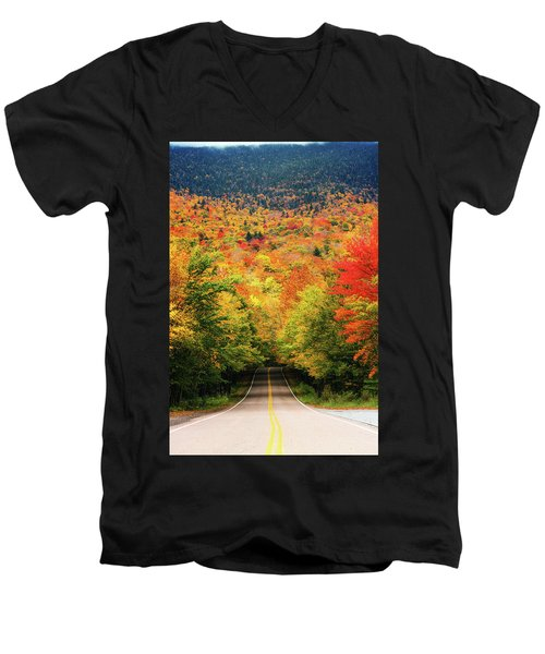 Smuggler's Notch Men's V-Neck T-Shirt