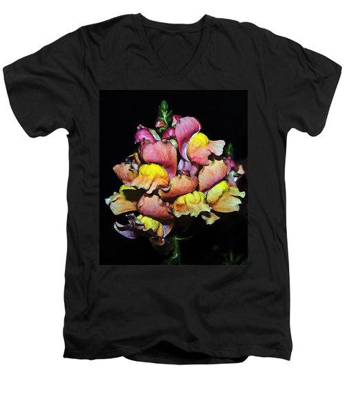 Snapdragons Men's V-Neck T-Shirt