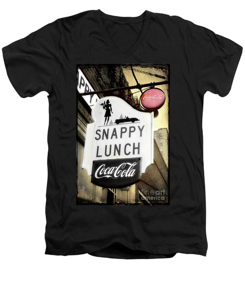 Snappy Lunch Men's V-Neck T-Shirt