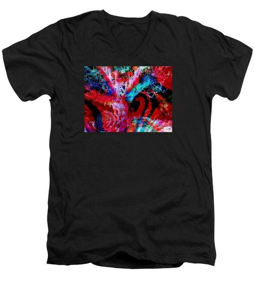 Snowing Baobab Men's V-Neck T-Shirt