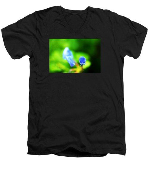 So Blue Men's V-Neck T-Shirt