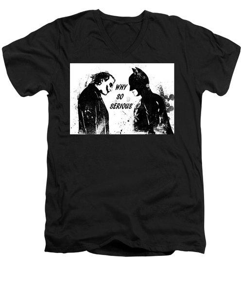So Serious Men's V-Neck T-Shirt