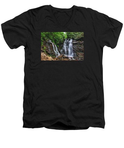 Soco Falls Men's V-Neck T-Shirt