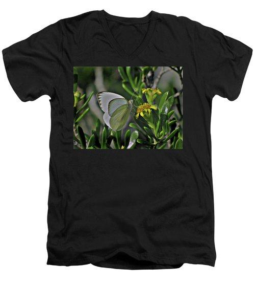 Soft As A Leaf Men's V-Neck T-Shirt