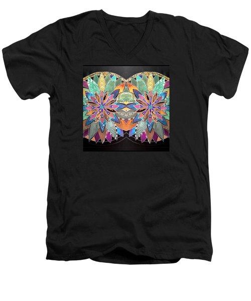 Soft Mandala Men's V-Neck T-Shirt