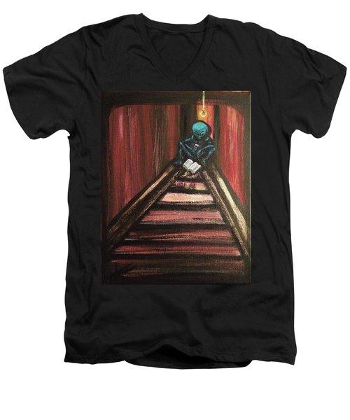 Solamente Alien Men's V-Neck T-Shirt