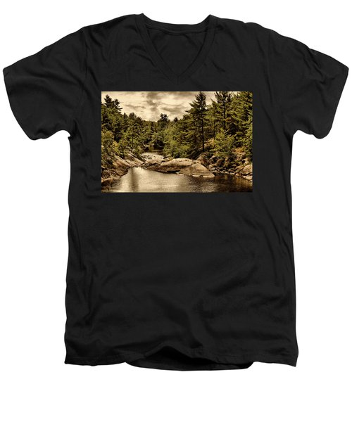 Solitary Wilderness Men's V-Neck T-Shirt