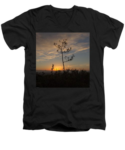 Solitude At Solidad Men's V-Neck T-Shirt