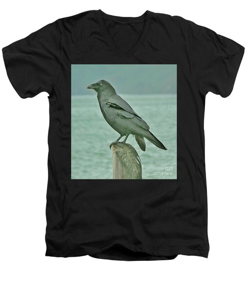 Something To Crow About Men's V-Neck T-Shirt